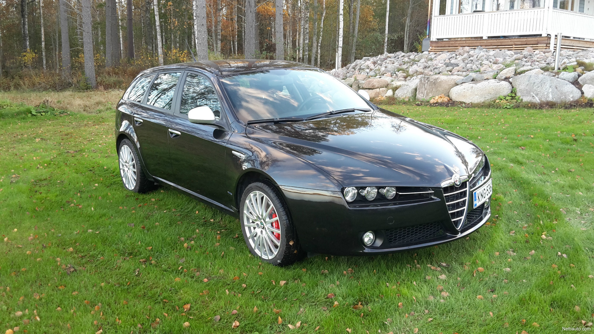 alfa romeo 159 sportwagon 3 2 jts v6 q4 station wagon 2007 used vehicle nettiauto. Black Bedroom Furniture Sets. Home Design Ideas