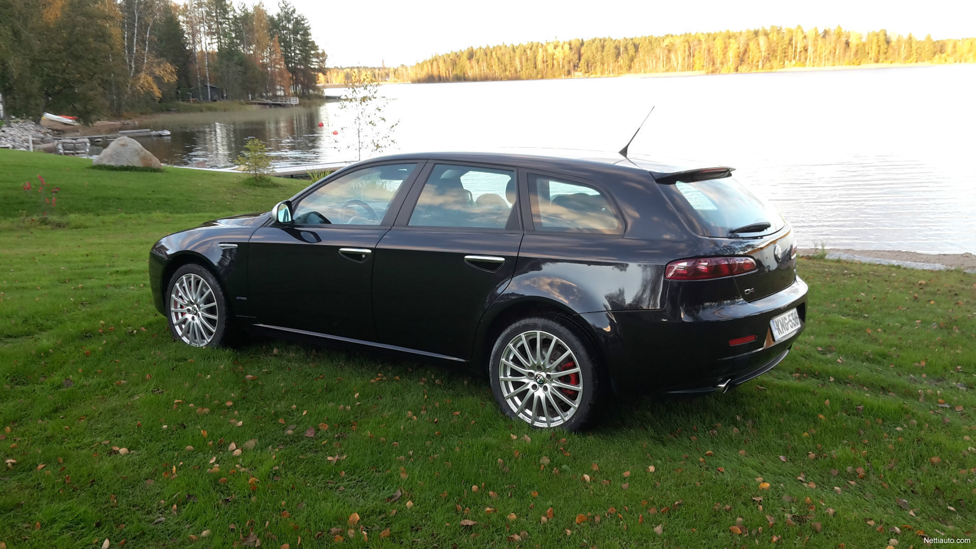 alfa romeo 159 sportwagon 3 2 jts v6 q4 farmari 2007 vaihtoauto nettiauto. Black Bedroom Furniture Sets. Home Design Ideas