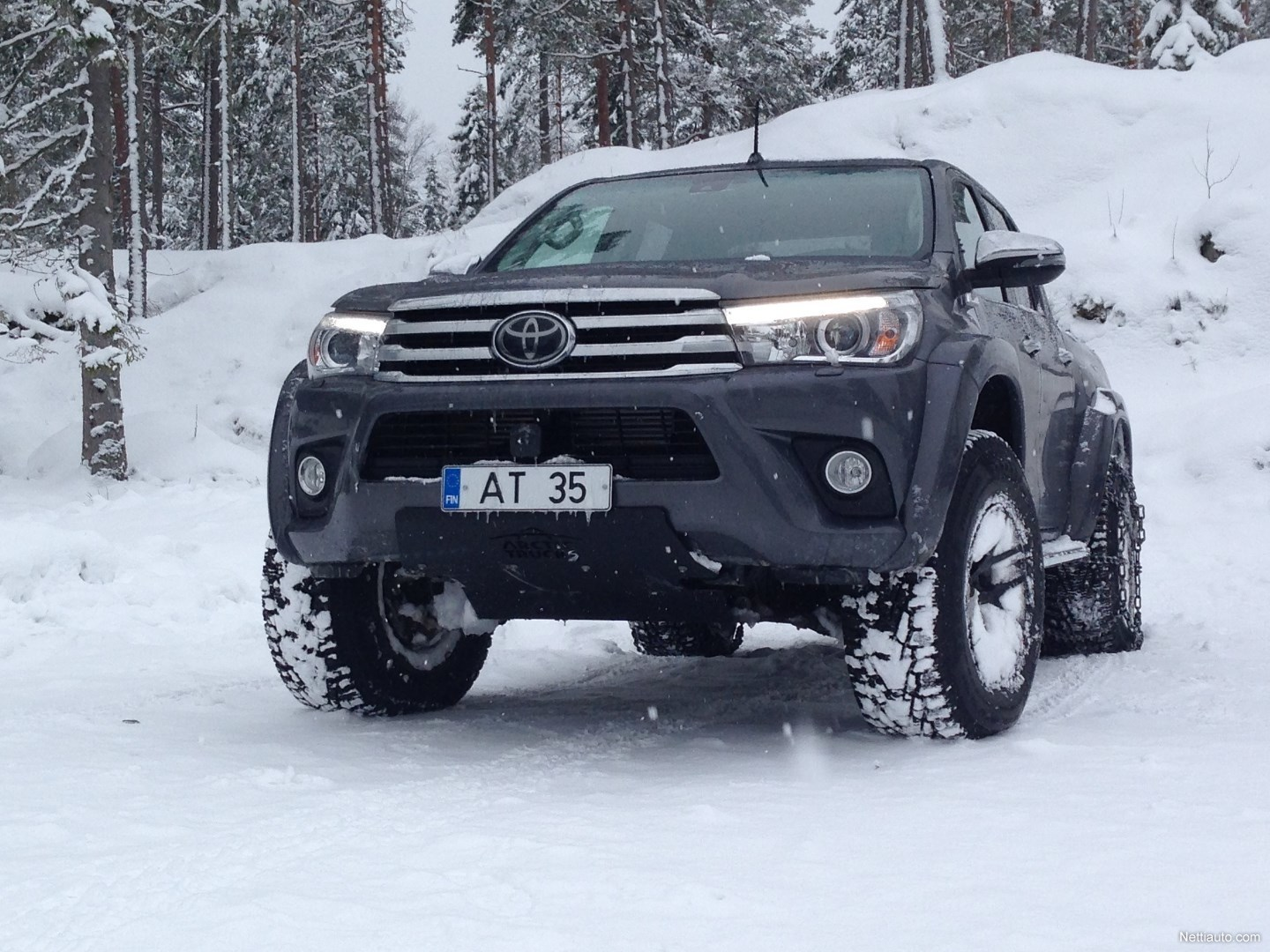 Toyota Hilux At35 Atm 4x4 2018 Used Vehicle Nettiauto