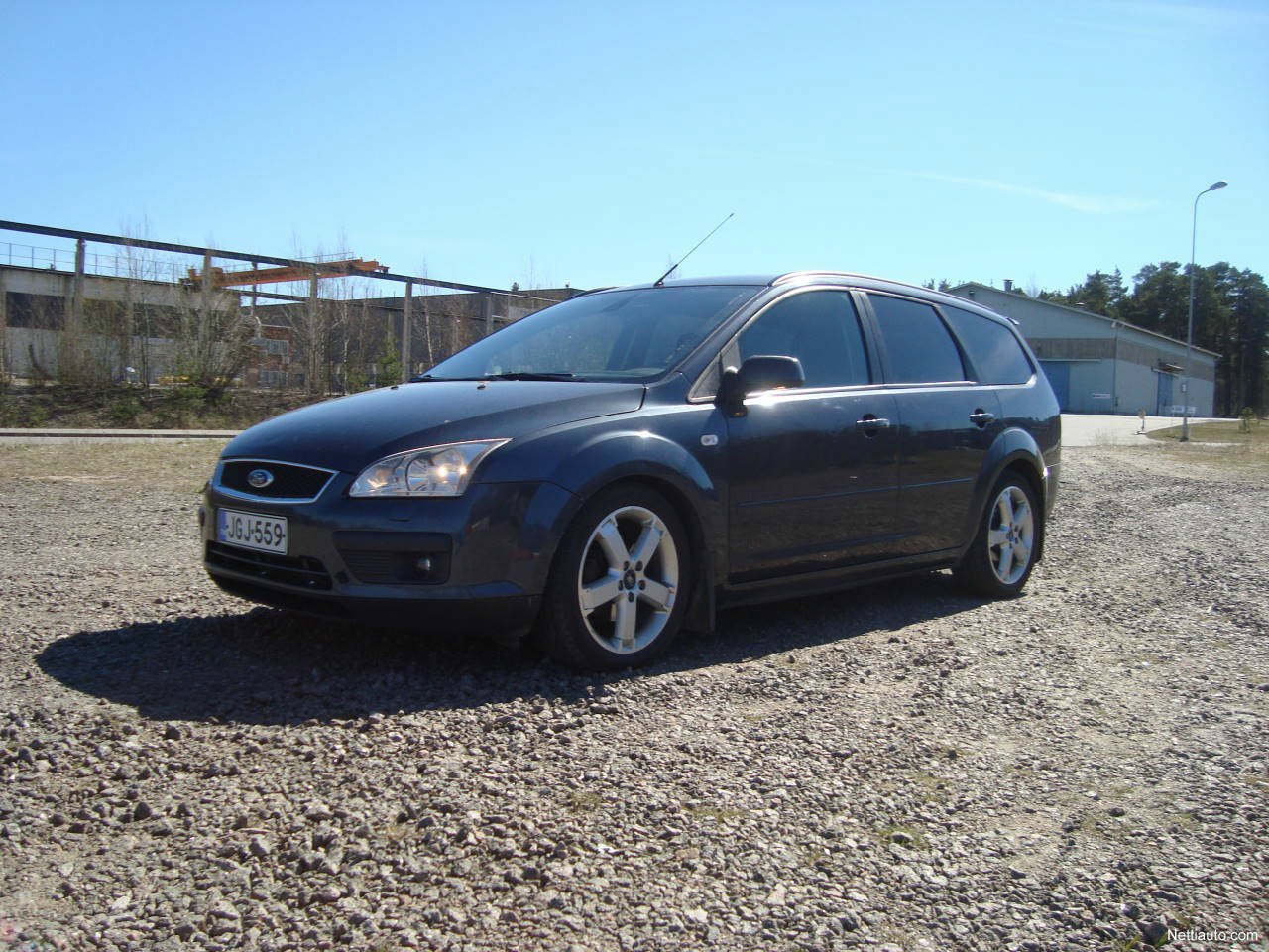 ford focus 1 6 ti vct ghia wagon station wagon 2006 used. Black Bedroom Furniture Sets. Home Design Ideas