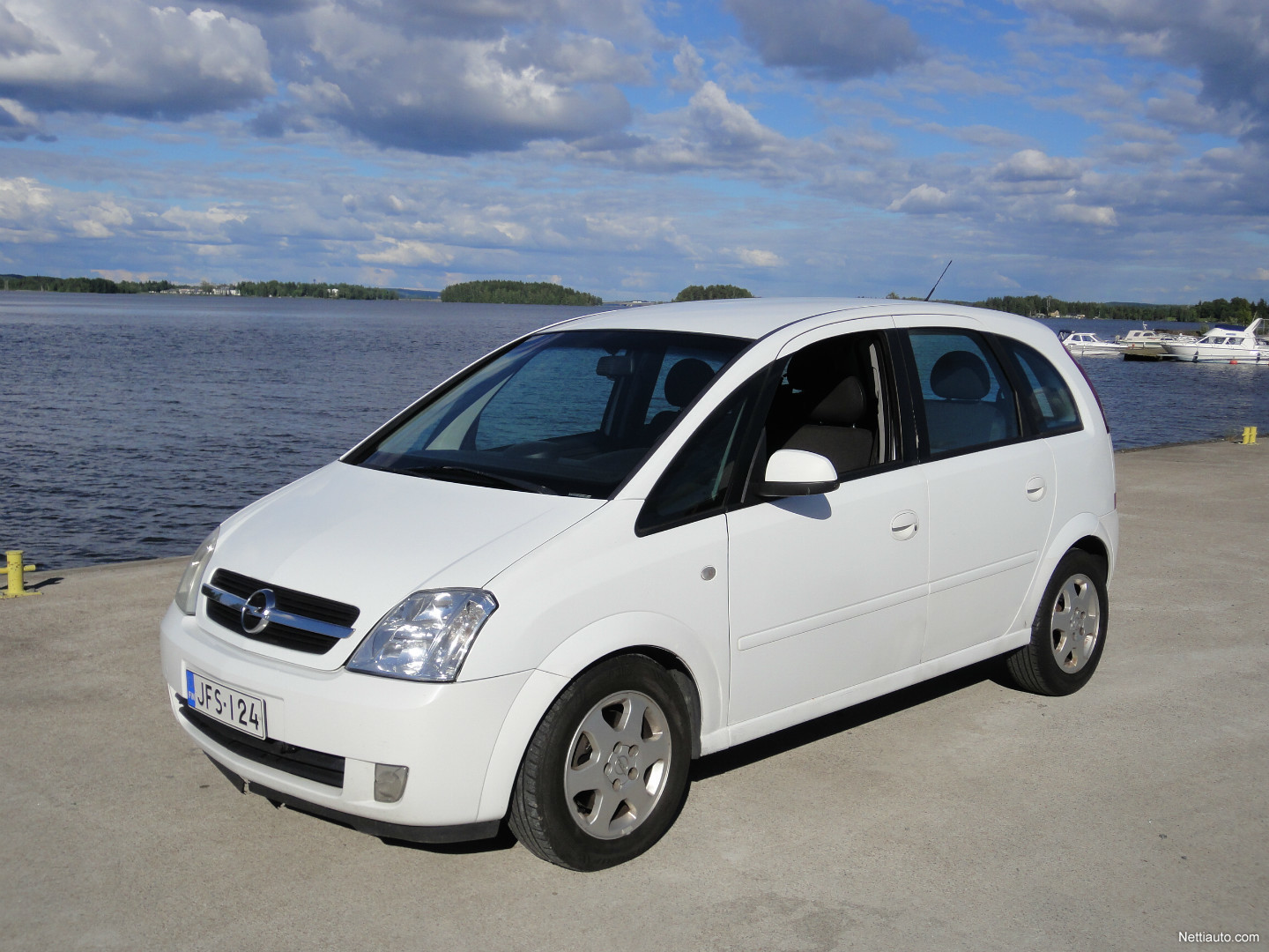 opel meriva 1 7 cdti cosmo 5ov mpv 2004 used vehicle nettiauto. Black Bedroom Furniture Sets. Home Design Ideas