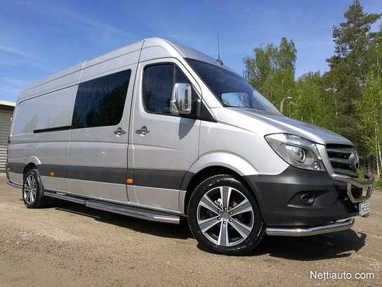 mercedes benz sprinter 319cdi 3 5 43k pitk a3 a bluetec other 2017 used vehicle nettiauto. Black Bedroom Furniture Sets. Home Design Ideas