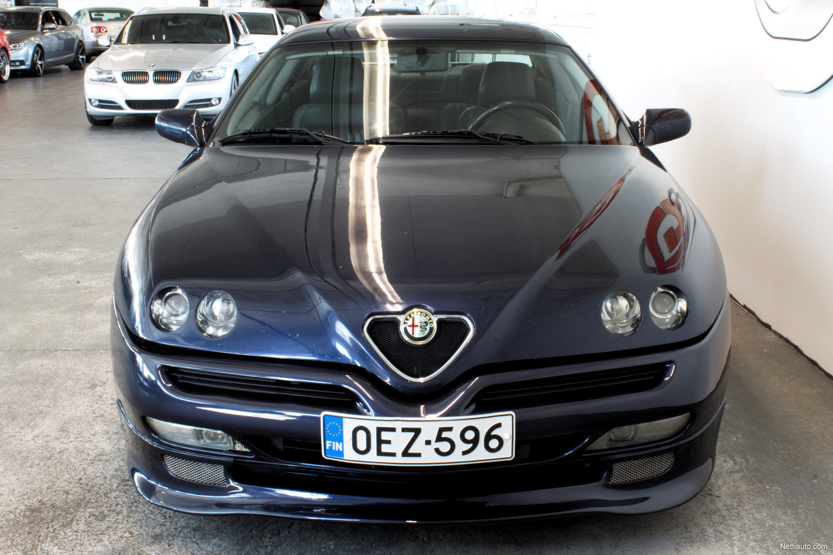 alfa romeo gtv 3 0 24 v6 cup varusteilla vaihto rahoitus coup 1998 used vehicle nettiauto. Black Bedroom Furniture Sets. Home Design Ideas