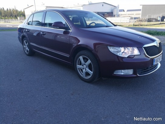 skoda superb 2 0 tdi 140 ambition dsg autom sedan 2009 used vehicle nettiauto. Black Bedroom Furniture Sets. Home Design Ideas
