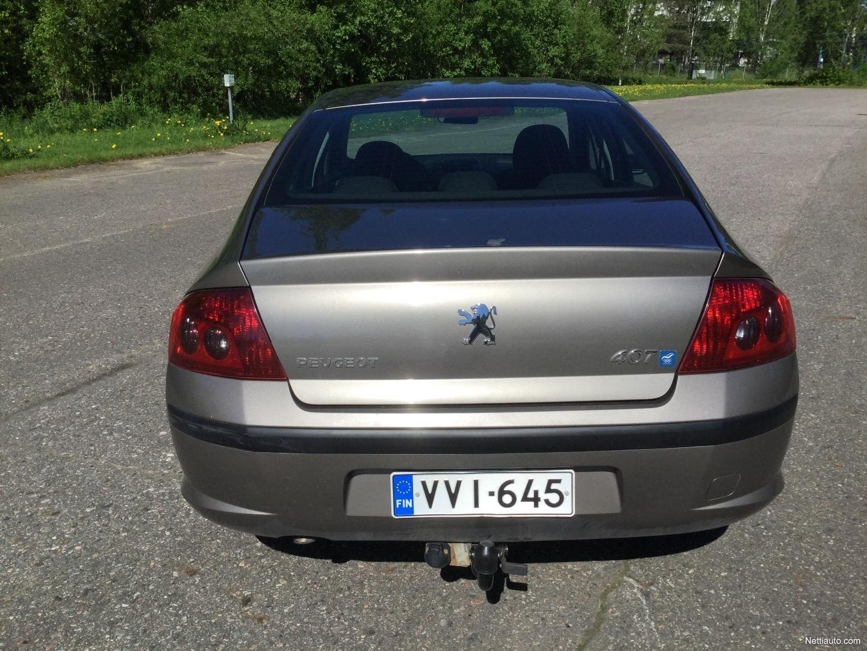 Peugeot 407 Olympia 2 0 4d TILAVA JA EDULLINEN! Sedan 2006