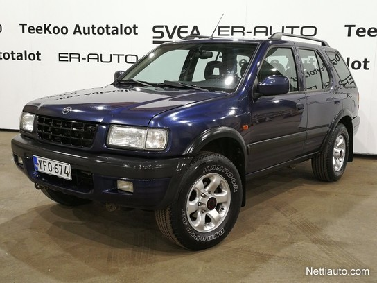 opel frontera 3 2 24 v6 ltd 5d 4x4 1999 used vehicle. Black Bedroom Furniture Sets. Home Design Ideas
