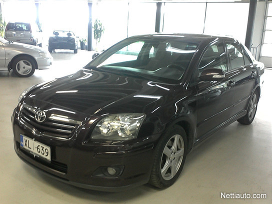toyota avensis 2 0 d4d 126 linea sol technical 4ov sedan 2006 used vehicle nettiauto. Black Bedroom Furniture Sets. Home Design Ideas