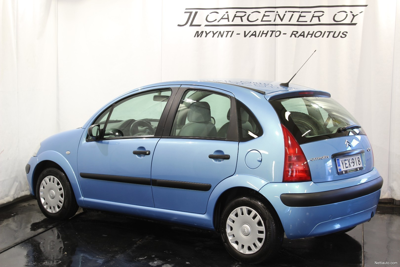 citroen c3 sx pack 5d ilmastoitu hatchback 2003 used vehicle nettiauto. Black Bedroom Furniture Sets. Home Design Ideas