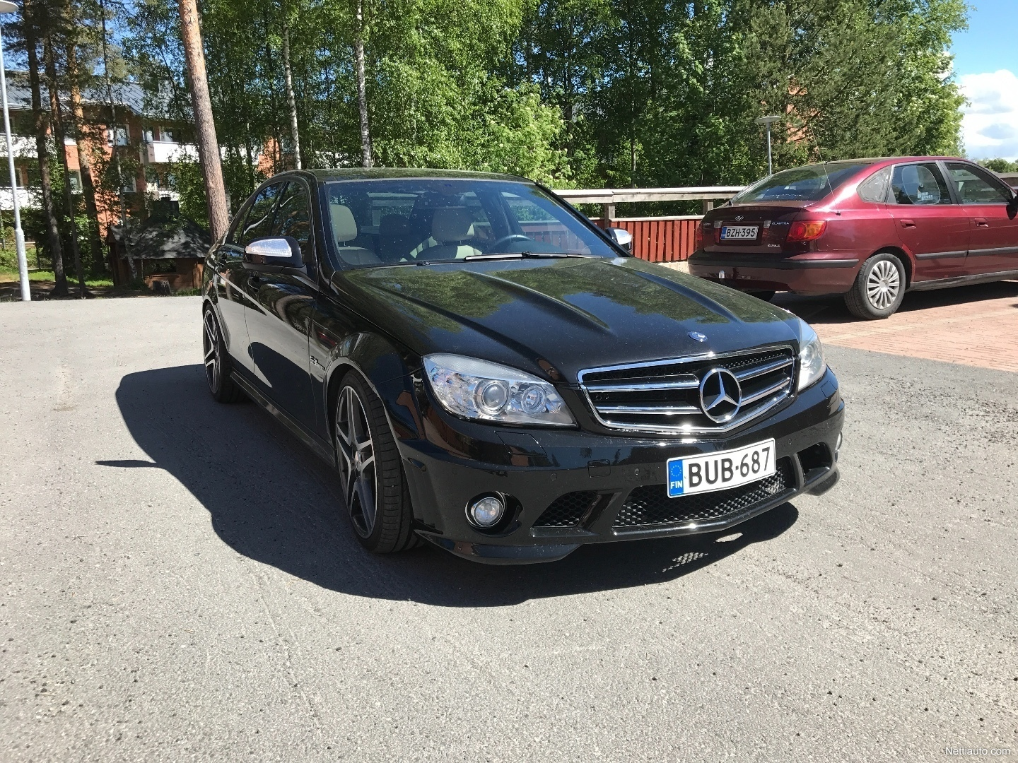 mercedes benz c 280 4d a c63 amg look sedan 2007 used vehicle nettiauto. Black Bedroom Furniture Sets. Home Design Ideas