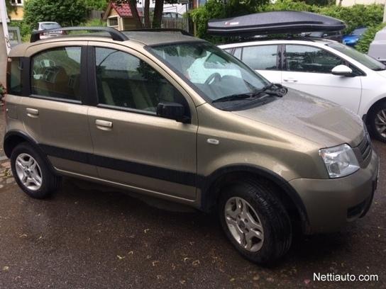Fiat Panda 4x4 >> Fiat Panda 4x4 Muu 2007 Vaihtoauto Nettiauto