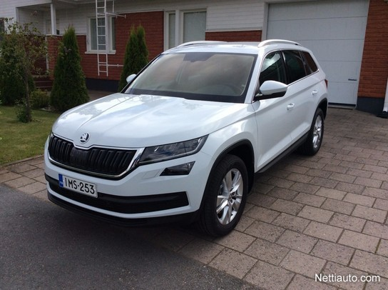 skoda kodiaq 2 0 tdi 190 4x4 ambition dsg autom 4x4 2017 used vehicle nettiauto. Black Bedroom Furniture Sets. Home Design Ideas