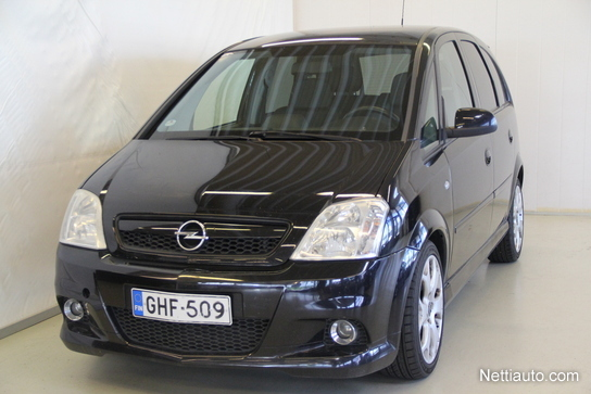 Opel Meriva Opc 16 Turbo M6 180 Hv Mpv 2006 Used Vehicle Nettiauto