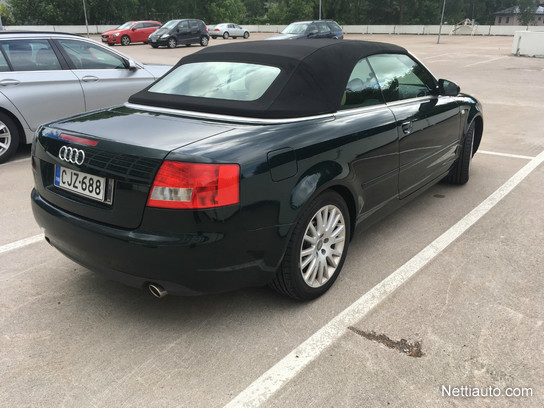 audi a4 3 0 v6 cabriolet a convertible 2003 used vehicle nettiauto. Black Bedroom Furniture Sets. Home Design Ideas