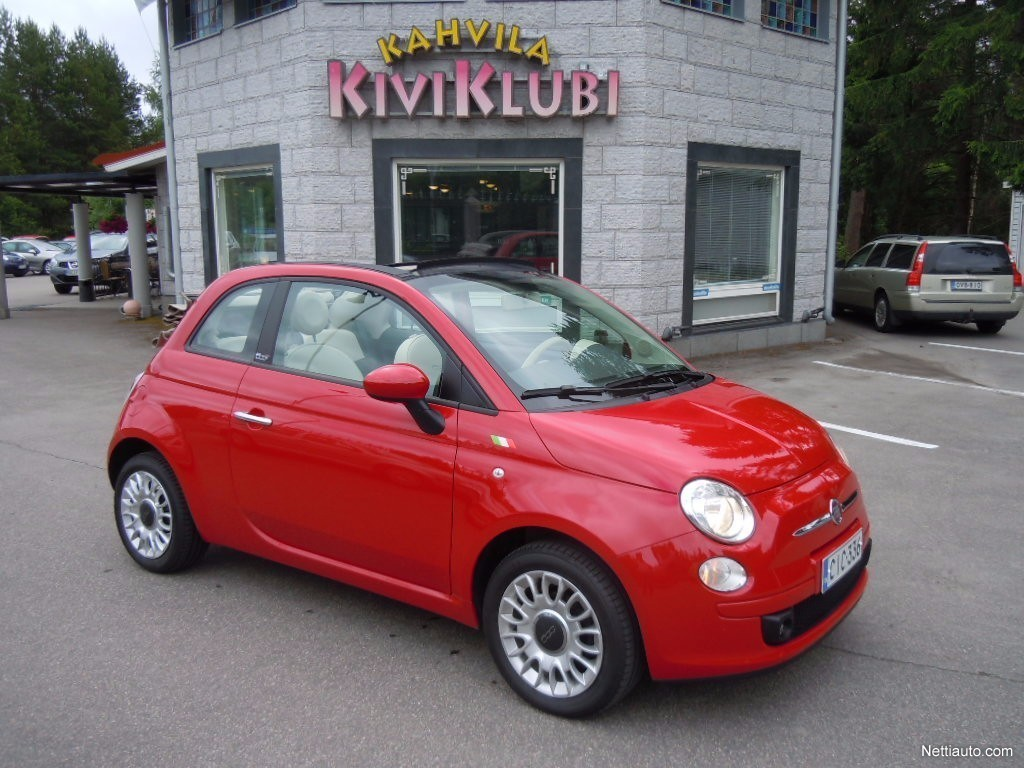 fiat 500c italia 1 2 8v 69hv convertible 2011 used vehicle nettiauto. Black Bedroom Furniture Sets. Home Design Ideas