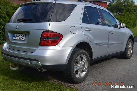 mercedes benz ml 420 cdi 4matic 4x4 2007 used vehicle nettiauto. Black Bedroom Furniture Sets. Home Design Ideas