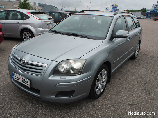 toyota avensis 2 0 d4d 126 linea terra wagon station wagon 2008 used vehicle nettiauto. Black Bedroom Furniture Sets. Home Design Ideas