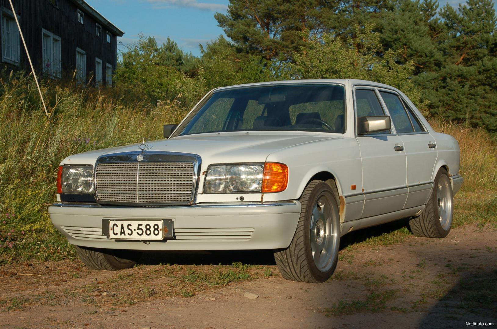 Mercedes benz se 260 se sedan 1990 used vehicle nettiauto for Mercedes benz 260