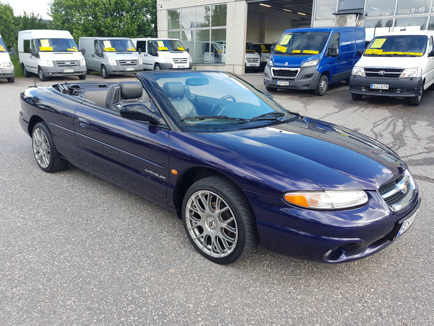 chrysler stratus 2 5 lx v6 cabrio a convertible 1998 used vehicle nettiauto. Black Bedroom Furniture Sets. Home Design Ideas