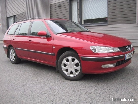 Peugeot 406 1.8 SR Executive GW *SIISTI, JUURI HUOLLETTU JAKOPÄÄ* Farmari 2004 - Vaihtoauto ...