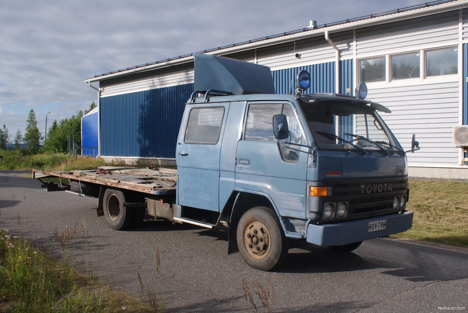 Toyota Dyna *AUTON KULJETUS* Leimaa 8/2018 RAHOITUS ALKAEN 0e Pickup 1985 - Used vehicle - Nettiauto