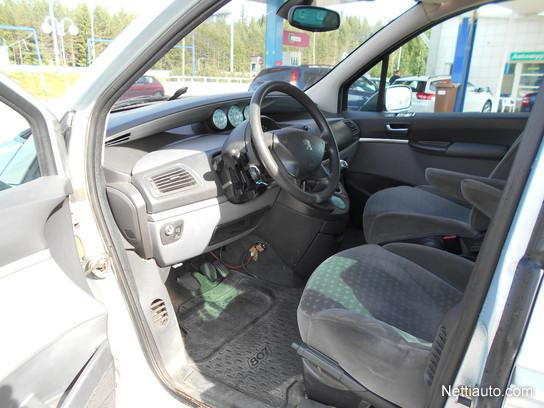 Peugeot 807 st 2 2 5d juuri leimattu tila p s mpv 2004 for Interior peugeot 807