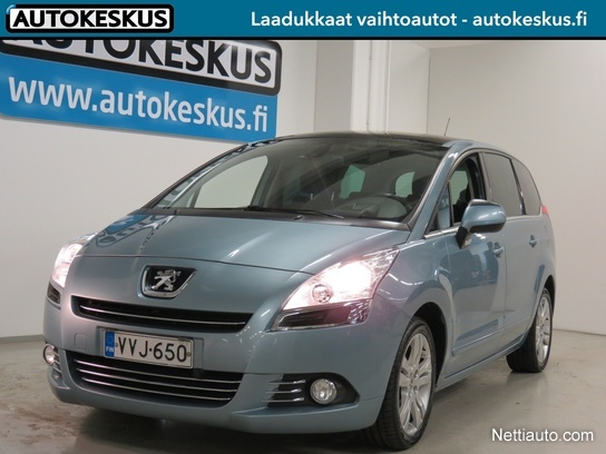 peugeot 5008 sport hdi 110 fap 2tronic autom panorama 5hl mpv 2010 used vehicle nettiauto. Black Bedroom Furniture Sets. Home Design Ideas