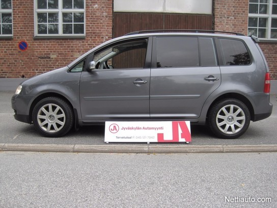Volkswagen Touran Seuraava Kats 10 18 Ilmastointi