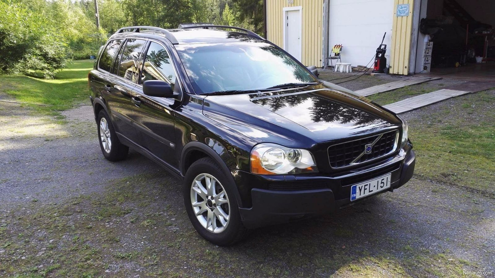 volvo xc90 d5 awd summum 5h a 4x4 2004 used vehicle nettiauto. Black Bedroom Furniture Sets. Home Design Ideas