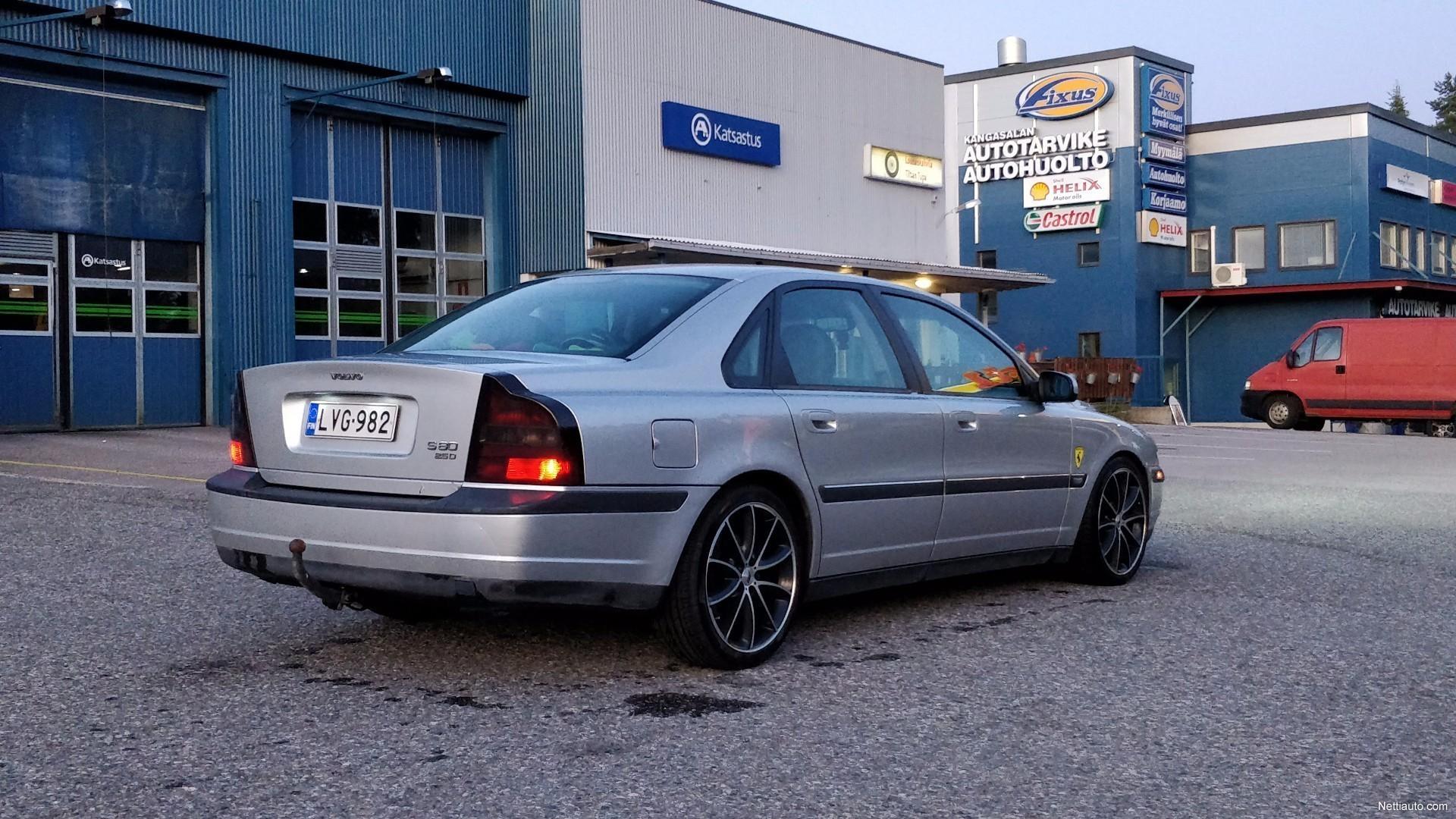Volvo s80 2 5d 4d a sedan 1999 used vehicle nettiauto for 1999 volvo s80 window regulator