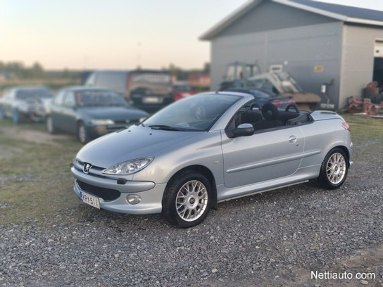 peugeot 206 cc 1 6 cabriolet convertible 2003 used vehicle nettiauto. Black Bedroom Furniture Sets. Home Design Ideas