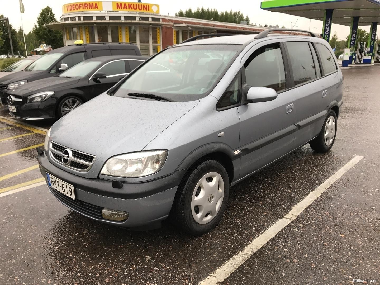 100 Opel Zafira 2003 Interior Vauxhall Zafira