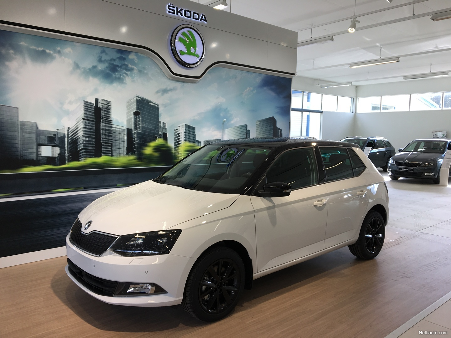 skoda fabia 1 0 tsi 110 style hatchback 2018 used vehicle nettiauto. Black Bedroom Furniture Sets. Home Design Ideas