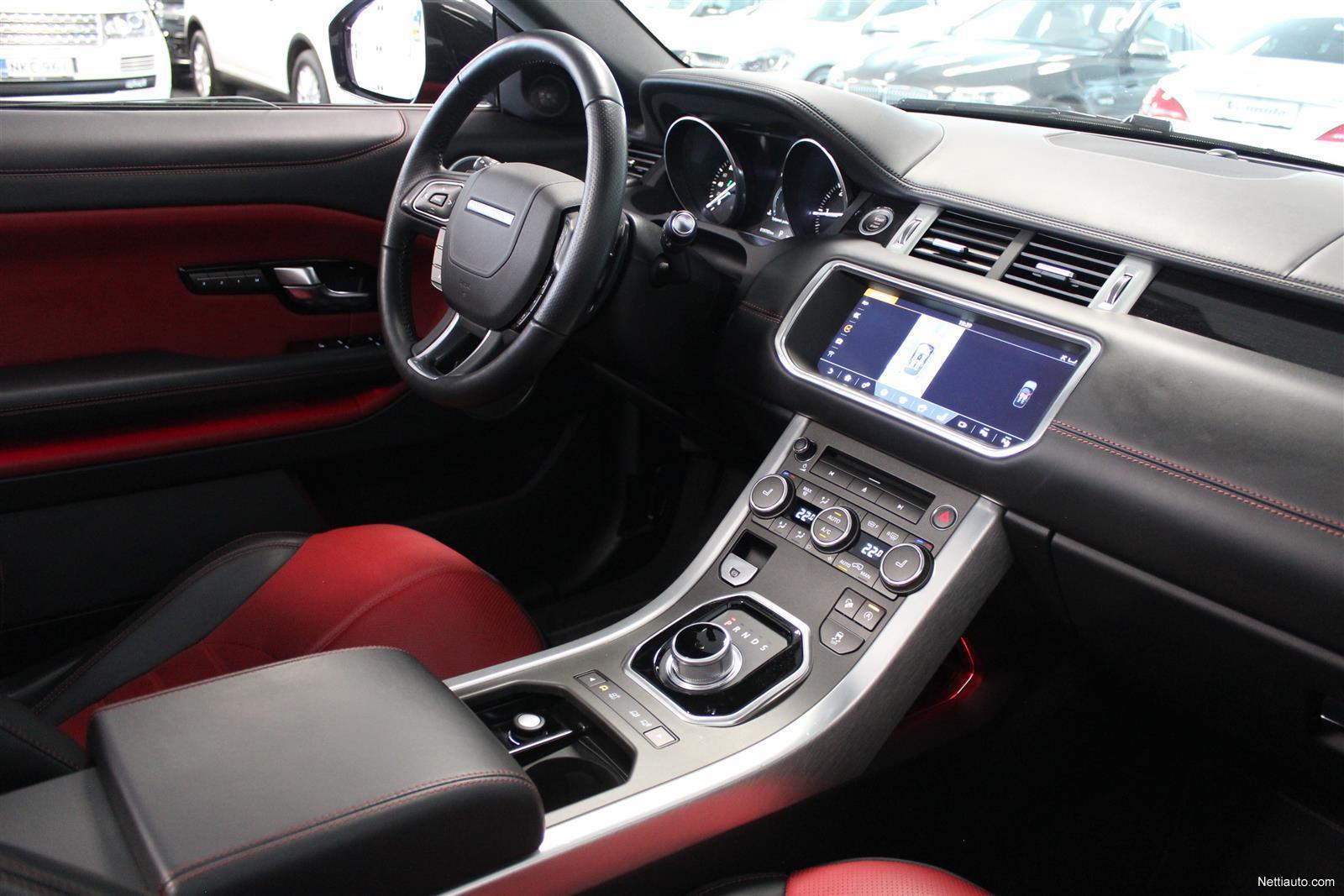 Land Rover Range Rover Evoque Convertible 2 0 Td4 180 Hse