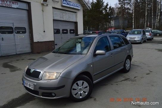 skoda fabia 1 4 tdi pd fun combi farmari 2006 vaihtoauto nettiauto. Black Bedroom Furniture Sets. Home Design Ideas