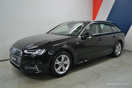 audi a4 avant business sport comfort s line edition 2 0tdi quattro s tronic 190hv farmari 2018. Black Bedroom Furniture Sets. Home Design Ideas