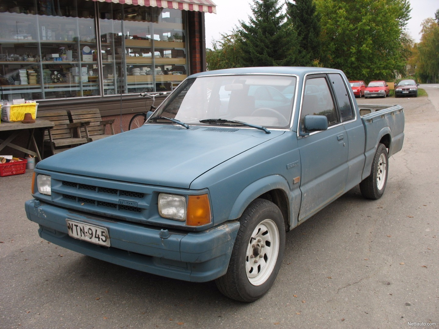 mazda pick up b2200 diesel avolava 1989 vaihtoauto nettiauto. Black Bedroom Furniture Sets. Home Design Ideas