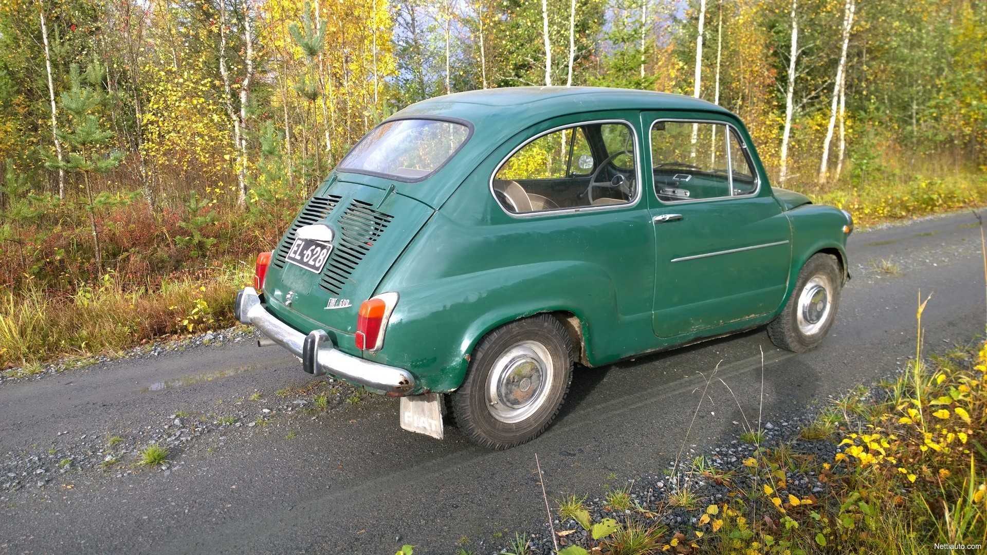 1971 Seat 600 - / FIAT 600 E of 1971 with 5,874 km ... |Fiat 600 1971