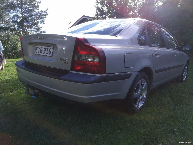 Volvo s80 2 4 4d 103kw sedan 1999 used vehicle nettiauto for 1999 volvo s80 window regulator