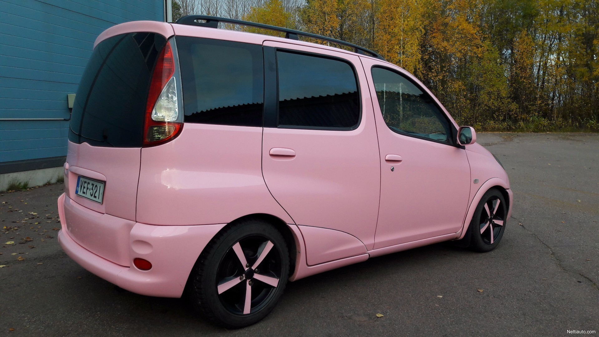toyota yaris verso verso 1 3 vvt i linea terra mpv 2002 used vehicle nettiauto. Black Bedroom Furniture Sets. Home Design Ideas