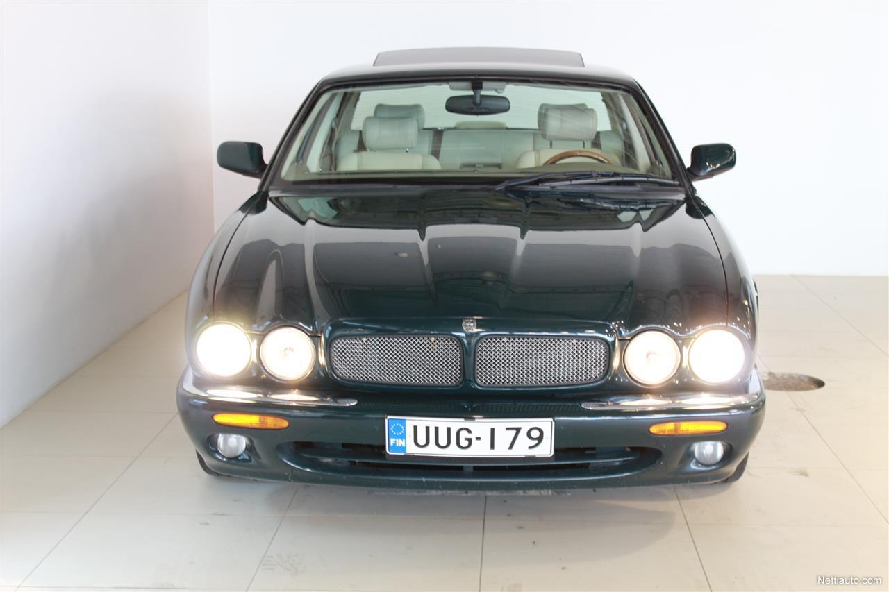 jaguar xjr 4 0 v8 supercharged 267 kw aut juuri katsastettu sedan 1999 used vehicle nettiauto. Black Bedroom Furniture Sets. Home Design Ideas