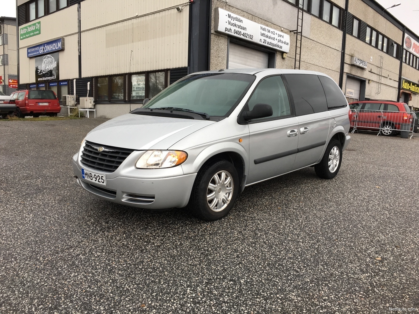 chrysler voyager 3 3 v6 se touring 5d 7h a mpv 2008 used vehicle nettiauto. Black Bedroom Furniture Sets. Home Design Ideas