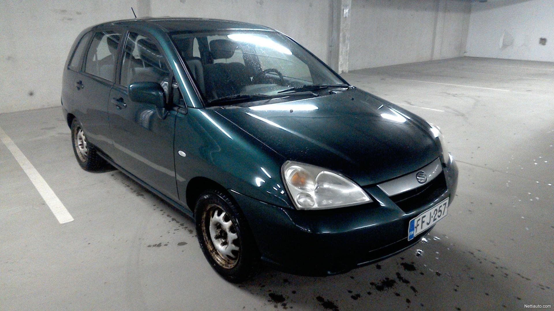 suzuki liana 1 6 wagon 5d station wagon 2002 used vehicle