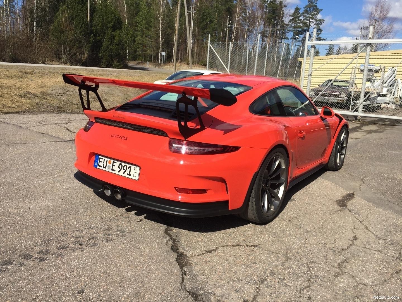 Porsche 911 GT3 RS -sis.ALV Coupé 2016 - Used vehicle - Nettiauto on porsche boxster, porsche panamera, porsche cayenne, porsche carrera, porsche gt, porsche 9ff, porsche history, porsche vs corvette, porsche spyder, porsche girl, porsche gt4, porsche 2 seater, porsche models,