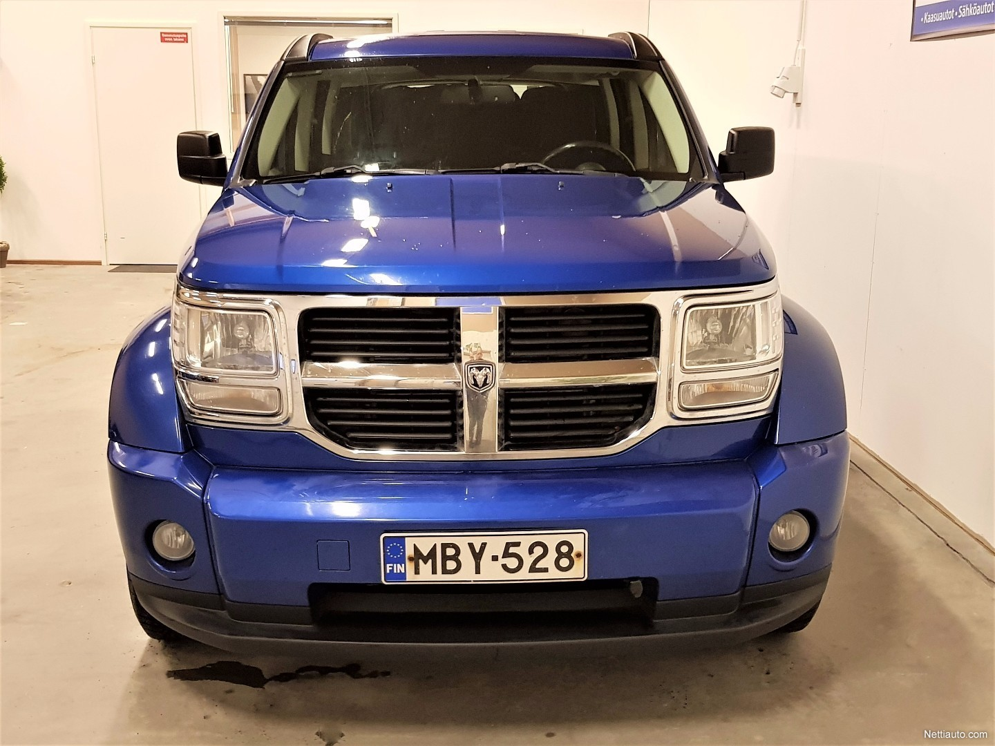 dodge nitro 2 8 crd sxt 4x4 a varattu 4x4 2009 used vehicle nettiauto. Black Bedroom Furniture Sets. Home Design Ideas