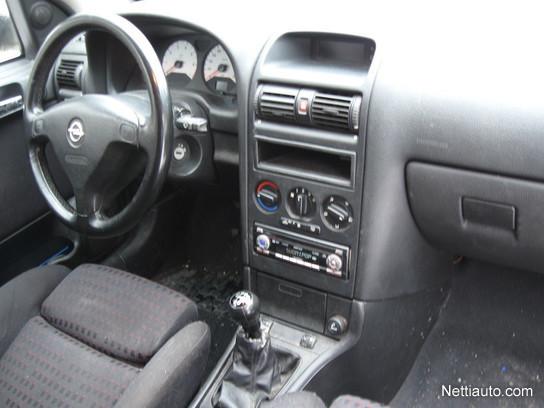 Opel Astra 2001 Black