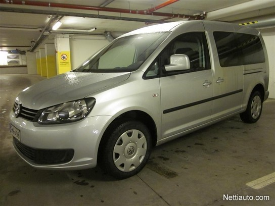 volkswagen caddy maxi maxi trendline family 1 6 tdi 75 a bluem huollettu hyv k suomi auto. Black Bedroom Furniture Sets. Home Design Ideas