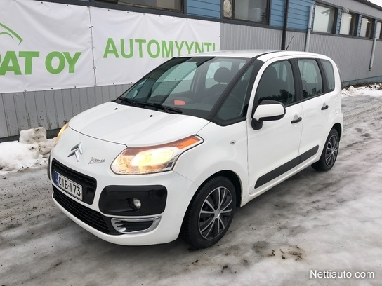 citroen c3 picasso hdi 90 confort myyd n t n n huutokaupat com sivulla mpv 2011 used vehicle. Black Bedroom Furniture Sets. Home Design Ideas