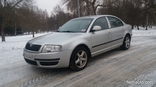 skoda superb 1 9 tdi pd 85 active 4d sedan 2007 used vehicle nettiauto. Black Bedroom Furniture Sets. Home Design Ideas