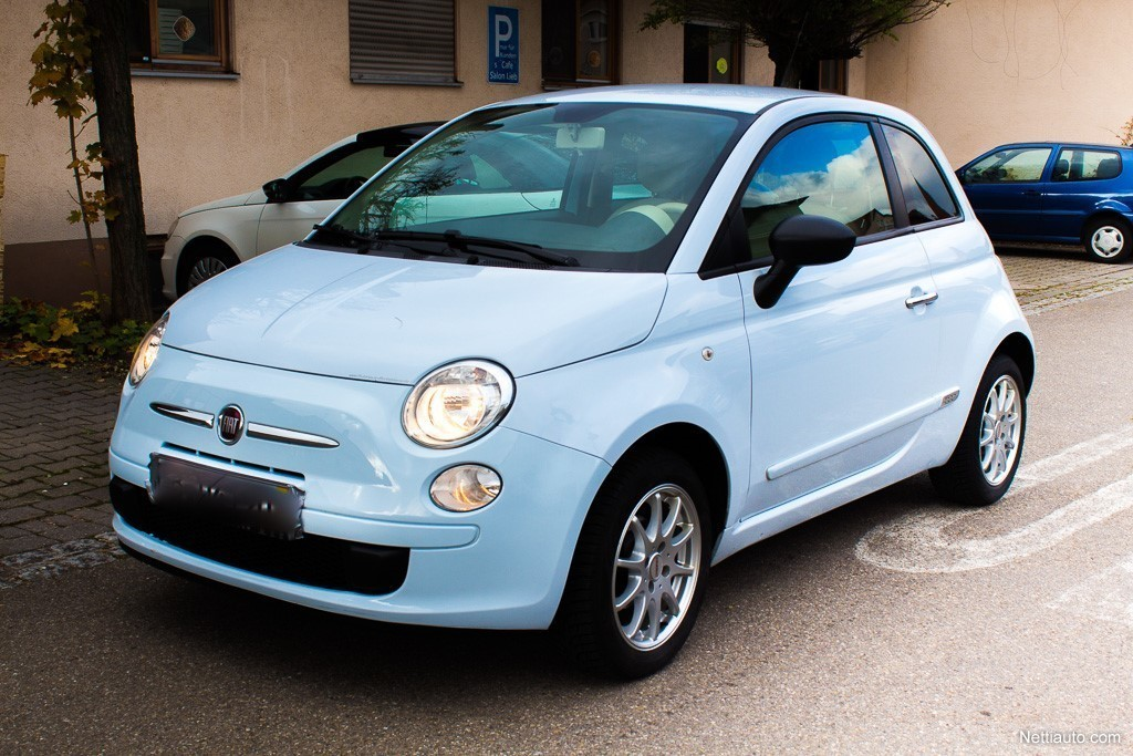 fiat 500 hatchback 2009 used vehicle nettiauto. Black Bedroom Furniture Sets. Home Design Ideas