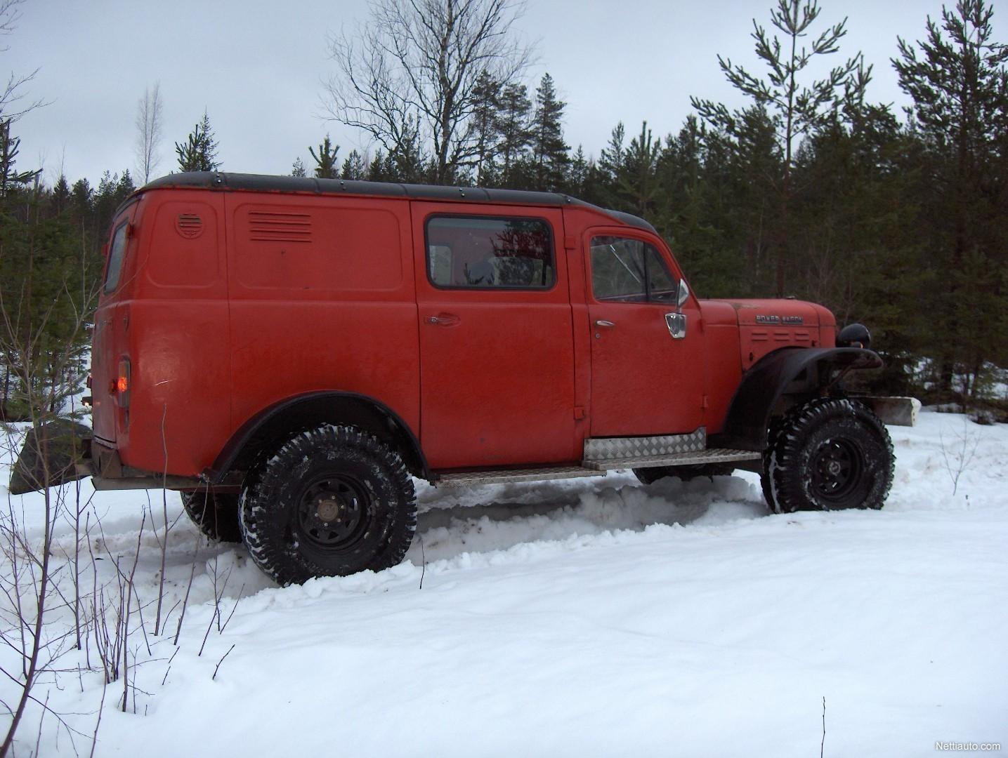 Dodge Powerwagon W 300 M 4x4 1961 Used Vehicle Nettiauto 1949 Power Wagon